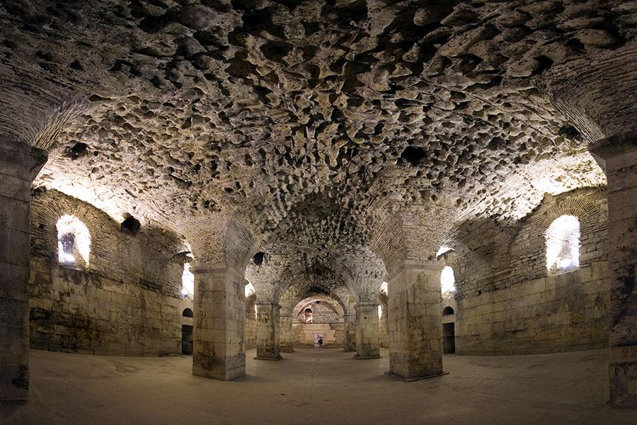 basement_diocletian_palace